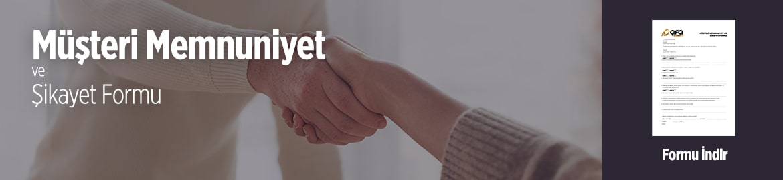 Müşteri Memnuniyet ve Şikayet Formu